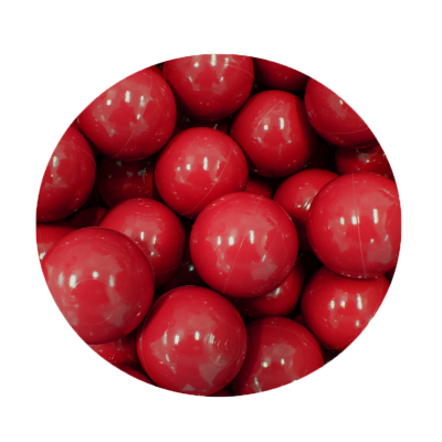 Loptičky do suchých bazénov Golden kids 100 ks - červené