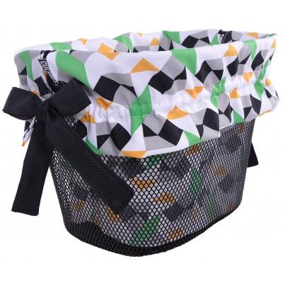 Vložka do košíka farebné trojuholníky