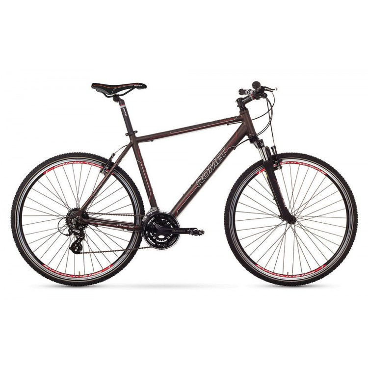 "Krossový Bicykel 28 Romet Orkan 2.0 M Hliníkový 19"" Hnedý"