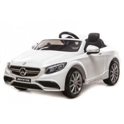 Elektrické autíčko Mercedes S63 AMG - biele