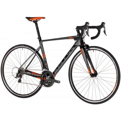 """Cestný bicykel 28"""" Kellys URC 30 M Sivo-čierno-oranžový"""