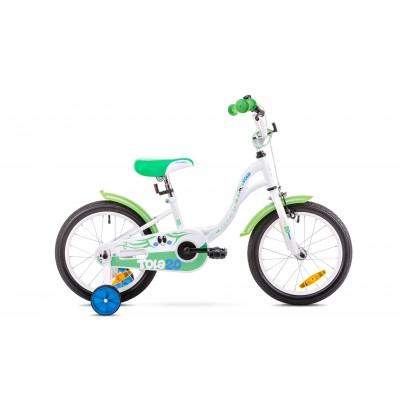 Detský bicykel 20 Romet Tola bielo-zelený