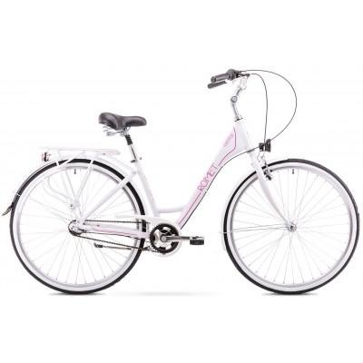 "Mestský bicykel 28"" Romet Moderne 3-prevodový 17"" Biely"
