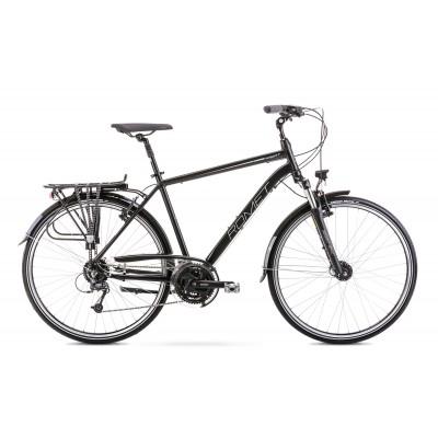 Krossový bicykel 28 Romet Wagant 7 Čierno-sivý
