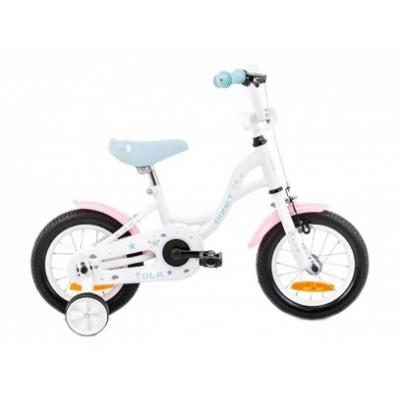 Detský bicykel 12 Romet Tola Bielo-tyrkysový
