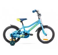 Detský bicykel 16 Romet Tom Modro-zelený