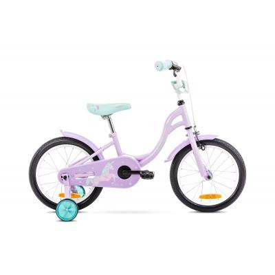 Detský bicykel 12 Romet Tola Ružovo-tyrkysový