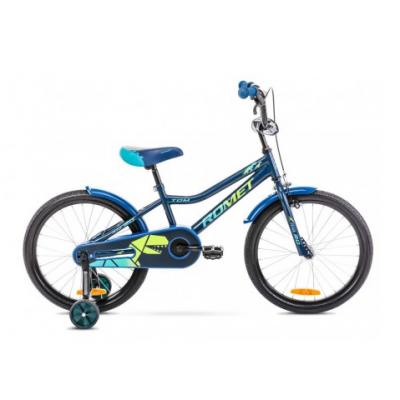Detský bicykel 20 Romet Tom Modro-zelený