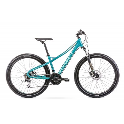 """Horský Bicykel 27,5 Romet Jolene 7,1 tyrkysový hliníkový 19"""""""