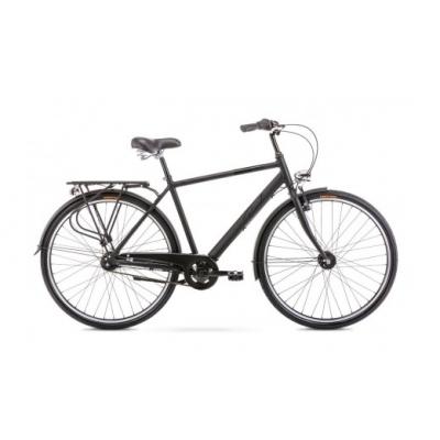 """Mestský bicykel 28 Romet Grom Hliníkový 7-prevodový Nexus 20"""" Čierny"""
