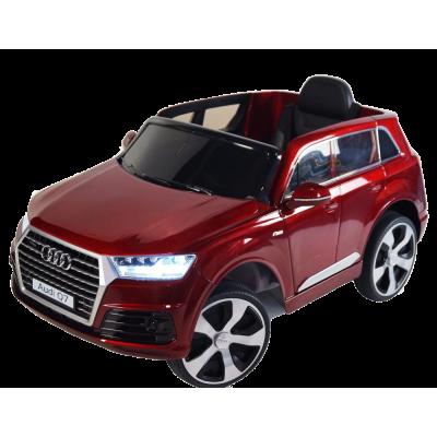 Elektrické autíčko Audi Q7 - lakované - červené