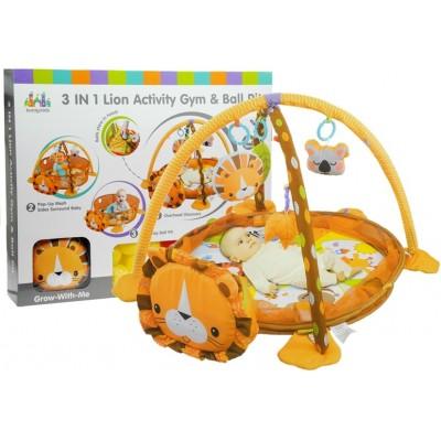 Detská podložka na hranie - lev
