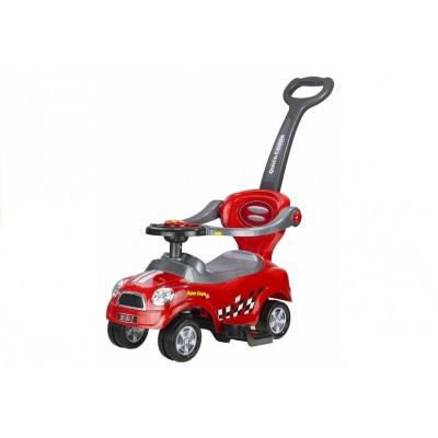 Odrážadlo autíčko Pusher Coupe - červené