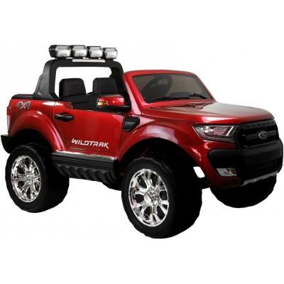 Elektrické autíčko Ford Ranger 4x4 - lakované - LCD display - červené