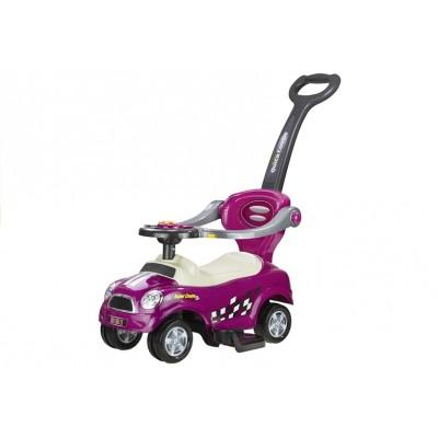 Odrážadlo autíčko Pusher Coupe - fialové