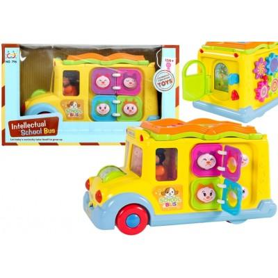 Farebný multifunkčný autobus