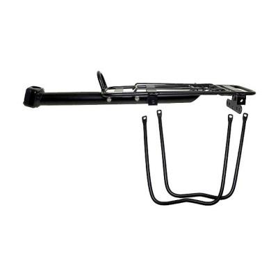 Nosič na bicykel - hliníkový Pod sedlo čierny