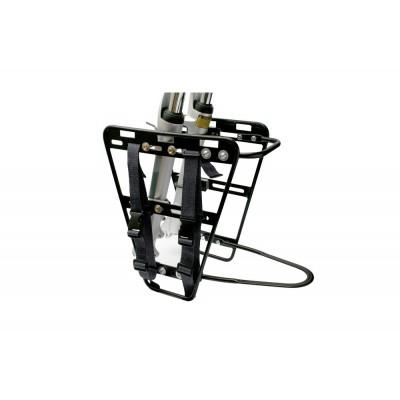Predný nosič na bicykel - hliníkový Sport Arsenal Čierny