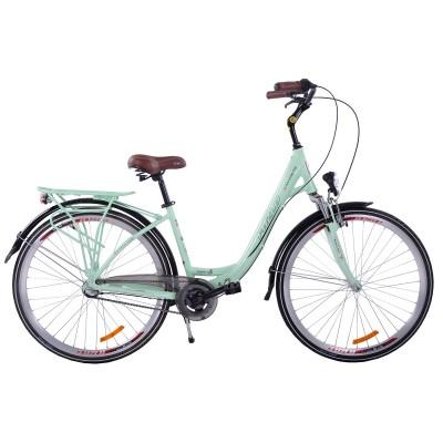 Mestský bicykel 28 Fuzlu New Jersey 3S ATM Mätový Hliníkový