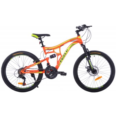 "Horský Bicykel 26"" Fuzlu Perfect Power Full 1XT Oranžovo-žltý"