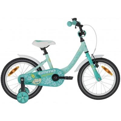 Detský bicykel 16 Kellys Ema hlinikový mentolový