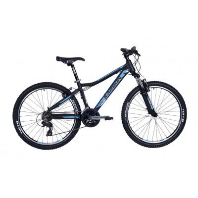 "Horský bicykel 26"" Karbon MTB X3 19"" Čierno-modrý"