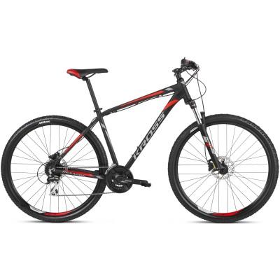"""Krosový bicykel Kross Hexagon 6.0 27,5"""" čierno-červený hliník 15"""""""