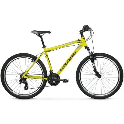 """Horský Bicykel 26 Kross Hexagon M19"""" Žlto-čierno-sivý, lesklý"""