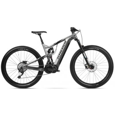 "Elektrický bicykel 27,5"" Kross Soil Boost M 630 M Grafitovo-čierny, lesklý"