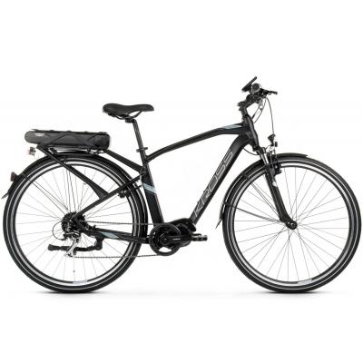 """Elektrický bicykel 28"""" Kross Trans Hybrid 2.0 M 21"""" L Čierno-strieborný, matný"""