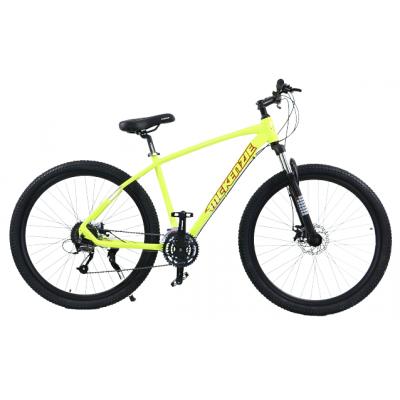 """Horský bicykel 29"""" MTB Hliníkový Shimano žltý"""