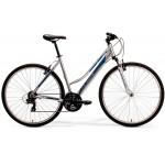 "Krossový Bicykel M-Bike 5-V Dámsky 46"" S Sivo-modrý"