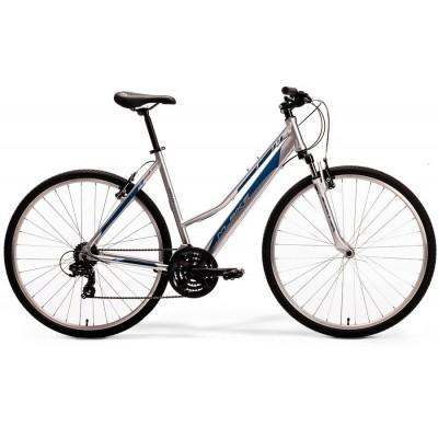 """Krossový Bicykel M-Bike 5-V Dámsky 44"""" XS Sivo-modrý"""