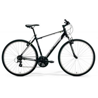 """Krossový Bicykel  M-Bike 10-V 44"""" XS Čierno-sivý"""