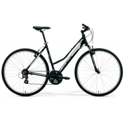 """Krossový Bicykel M-Bike 10-V Dámsky 46"""" S Čierno-sivý"""