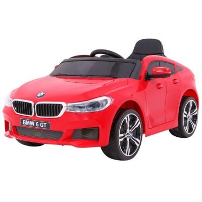 Elektrické autíčko BMW 6 GT - červené