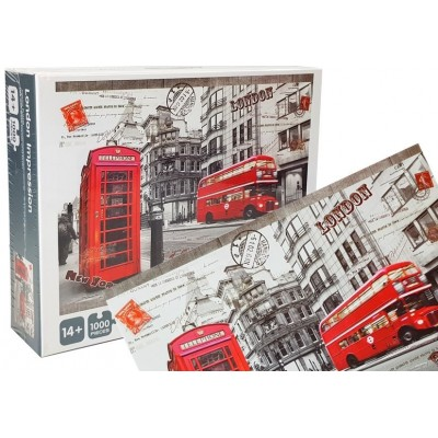 Puzzle London set 1000 dielikov