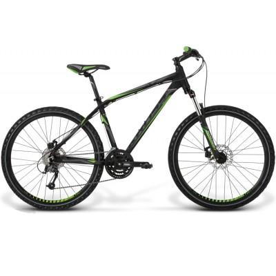 Horský Bicykel 26'' Kross Hexagon X7 M matný, čierno-zelený