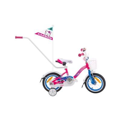 Detský bicykel 12 Karbon Mimi Ružovo-modrý