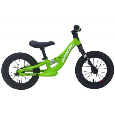 Detský bicykel 12 Saveno Niko Hliníkový Zelený