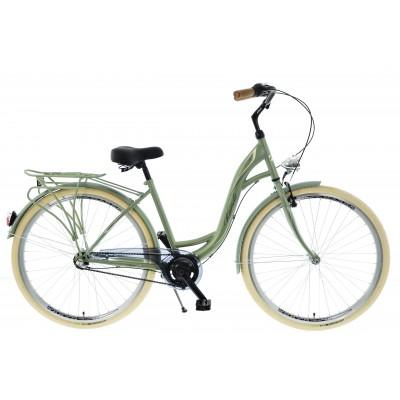 """Mestský bicykel 28 Kands S-Comfort 3-prevodový Nexus 18"""" matný Zelený"""