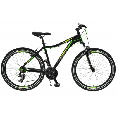 """Horský Bicykel 26 Kands Slim-R Tourney AM 16"""" Čierno-zelený"""