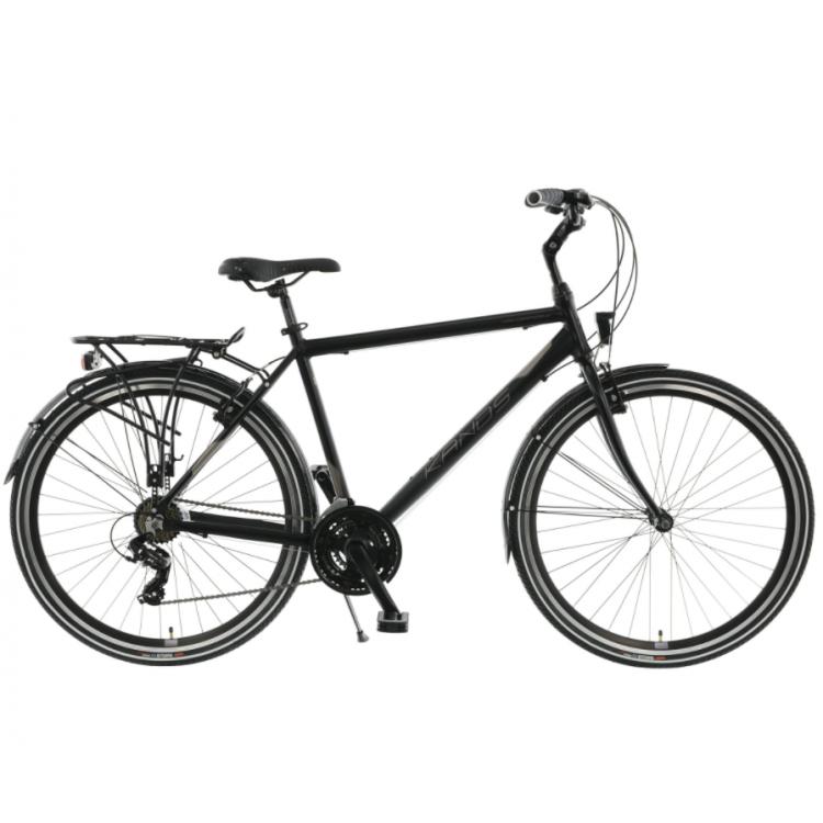 """Trekingový bicykel 28"""" Kands Navigator-x Tourney čierny hliníkový 19"""""""