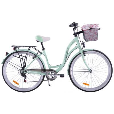 Mestský bicykel 28 Fuzlu Nevada S-7 Mätový matný