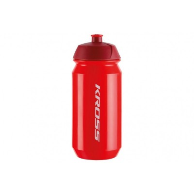 Fľaša 0,5 l Kross Pure - červená