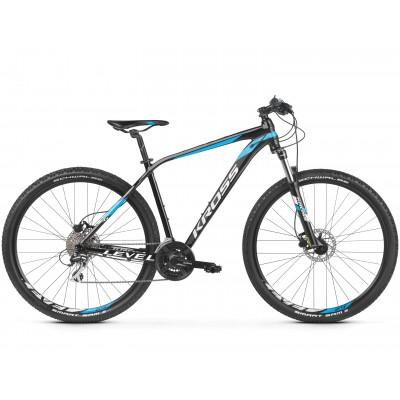 Horský Bicykel Kross 27,5 LEVEL 2.0 M Čierno-bielo-modrý
