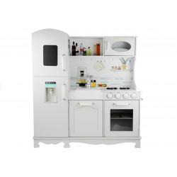 Drevená kuchynka Nela s chladničkou a rúr...