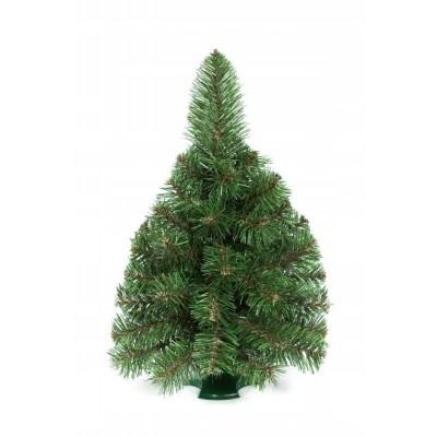 Umelý vianočný stromček malý dekoratívny zelený 50cm Premium