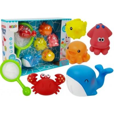 Sada morských zvieratiek na kúpanie