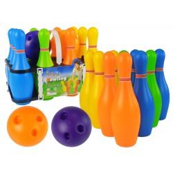 Farebná bowlingová sada - 10 ks